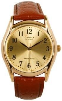 Casio Men's Leather Strap watch #MTP-1094Q-9B [並行輸入品]