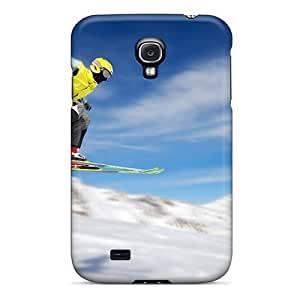 Excellent Galaxy S4 Case Tpu Cover Back Skin Protector Sport Skier