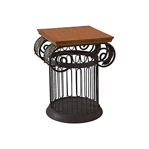 [Design Toscano Ionic Metal Column Side Table] (Ionic Column)