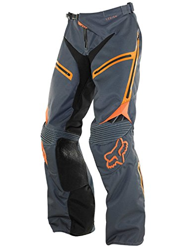 Fox Racing Legion Ex Men's Off-Road/Dirt Bike Motorcycle Pants - Grey/Orange/30