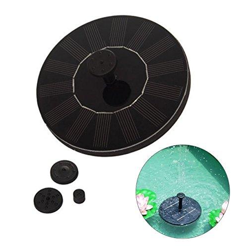 LIEYANG Solar Panel Powered Water Floating Pump Fountain Garden Pool Watering Kit by Lieyang (Image #2)