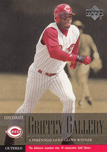 - 2001 Upper Deck Griffey Gallery #489 Ken Griffey Jr #489 NM Near Mint