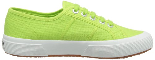 Adulte Green Cotu 2750 Mixte Baskets Superga acid Classic Vert 8Xqx5
