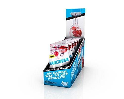 BPI Sports Garcinia Liquid Water Enhancer, Raspberry Ice, 24 Servings per Bottle, 6 Bottles
