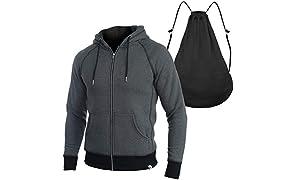 Quikflip 2-in-1 Backpack Hoodie (As Seen on Shark Tank) Unisex Heavyweight Hero Hoodie