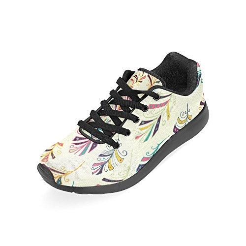 Interestprint Femmes Chaussures De Course Jogging Sport Léger Marche Sportive Sneaker Multi 8
