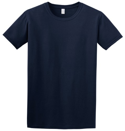 T Bleu Courtes Homme Marine style™ À Manches shirt Chiné Gildan Pour Soft odCrxeWQB