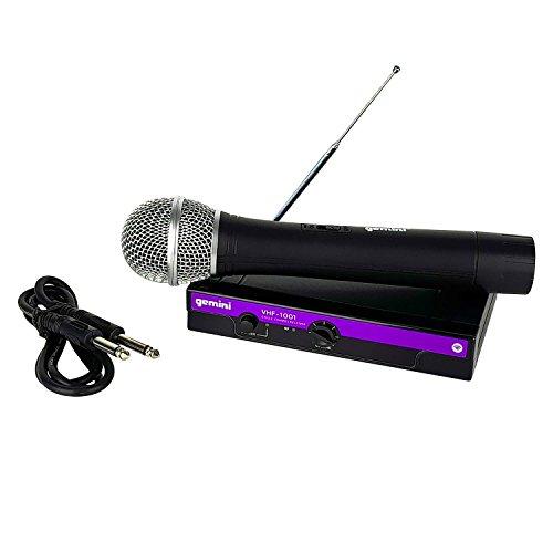 4Channel Wireless Microphone System (Wireless) 177.6MHz–Gemini...