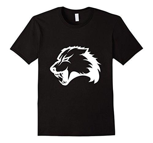 Mens Wolverine Growling Mascot T-Shirt 3XL Black