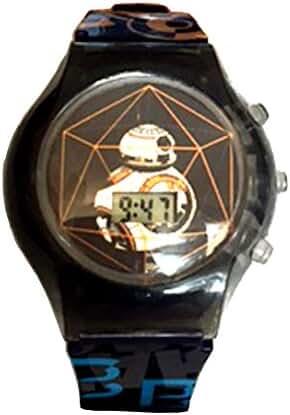 Star Wars Rotating Flash LCD watch