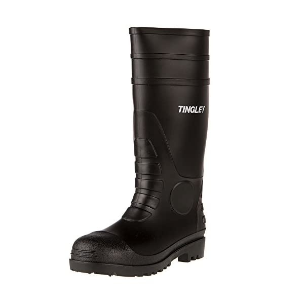 Tingley 31151 Economy SZ7 Kneed Boot for Agriculture, 15-Inch, Black 1