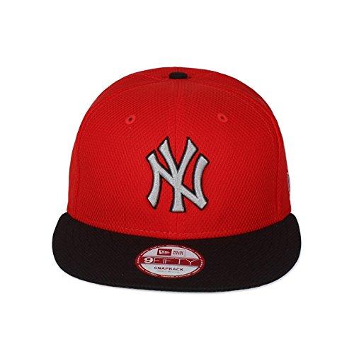 New Era - Gorra de béisbol - para hombre rojo rojo talla única
