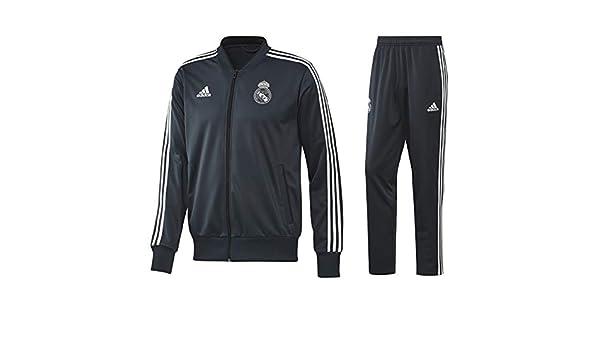 adidas - Chándal Oficial del Real Madrid 2018/2019 Turquesa M ...