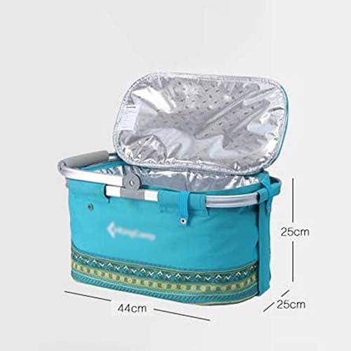 XuYuanjiaShop Borse da Picnic Outdoor Picnic Bag Portatile Lunch Box di Isolamento Pacchetto Camping Viaggio Ultra Light Meal Pacchetto Porta Pranzo/Borsa Termica