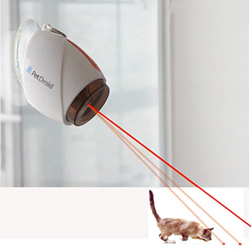 Gigwi Hanging Automatic Cat Laser Toy,Interactive Laser Toy for Kitten