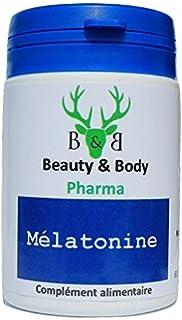 Beauty & Body Melatonina, 60 cápsulas, reducen el tiempo que se tarda en conciliar
