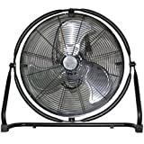 20 High velocity floor fan that tilts 4 ways - MTN5020
