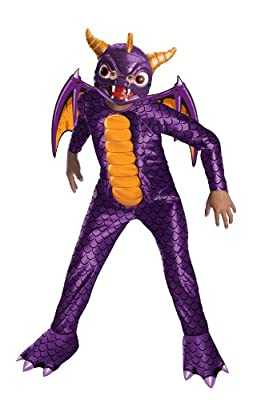 Skylanders Spyros Adventure Spyro The Dragon Costume - Small from Rubies