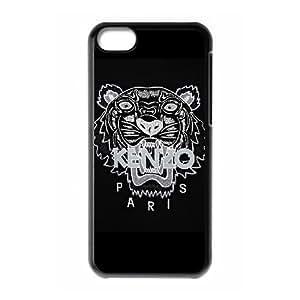 Kenzo tigre suéter negro L3D42P5XS funda iPod Touch 6 caso funda 1OC18N negro