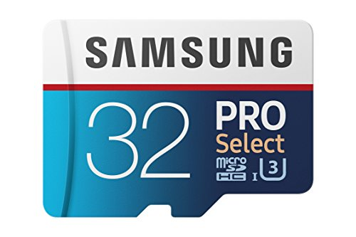 Samsung 100MB/s  MicroSD PRO Select Memory Card with Adapter