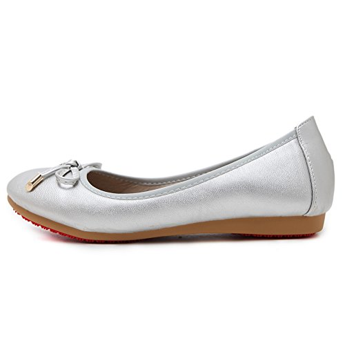 hot sale 2017 AdeeSu Womens Bows Low-Cut Uppers Round-Toe Urethane Ballet Flats