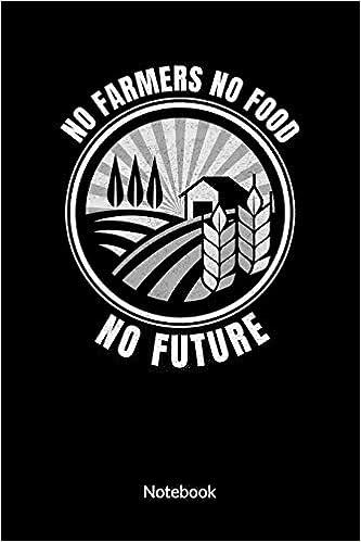 No Farmers No Food No Future Notebook Farmer Notebook And Farmers Journal Ruled 6x9 Jimmens Sarah 9781675791769 Amazon Com Books