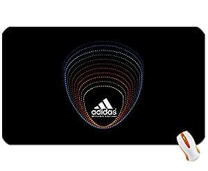 Adidas adidas classic background black logo wallpaper05 super big size mousepad Dimensions: 23.6 x 13.8 x 0.2(60x35x0.3cm)