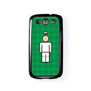 Russia 2 Black Hard Plastic Case for Samsung? Galaxy S3 by Blunt Football International + FREE Crystal Clear Screen Protector