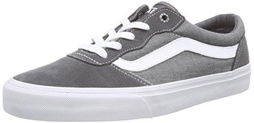 VansM MILTON CHAMBRAY - Zapatillas hombre gris - Grau ((Chambray) pewter/white)