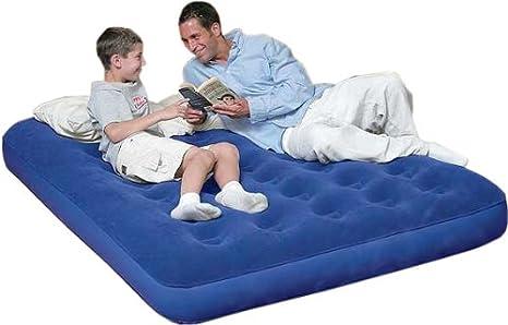 Bestway Doble colchón Hinchable (Parte Superior Acolchada colchón ...