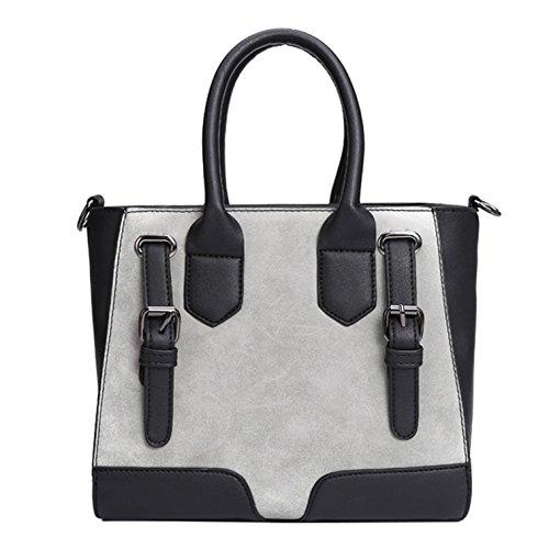 Style Capacity Black Yiji Tote Large Women's Handbag Small Euro xqq8rBn4