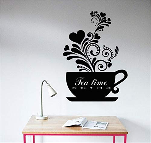 Wall Sticker Lettering Quotes and Saying Tea time