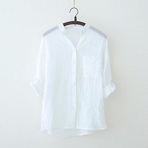 Sport T Chemisier Femme Femme Manteau Femme Manche Debardeur Shirt Sweat T de Shirt Yoga Tee Lâche Blouse Beikoard Shirt Femme Femme Tops Blanc Longues Casual PdqwHxEHf