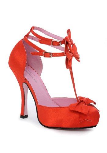 Leg Avenue LA453 Rosy avec Talons 40 Chaussures Rouge Noeuds ROSY a7qwa8Ur
