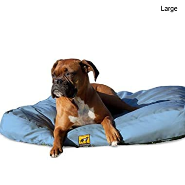 K9 Ballistics Original TUFF Bed Blue - Large (34 x40 x5 )