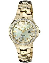 Womens SUT242 Coutura Analog Display Japanese Quartz Gold Watch · SEIKO