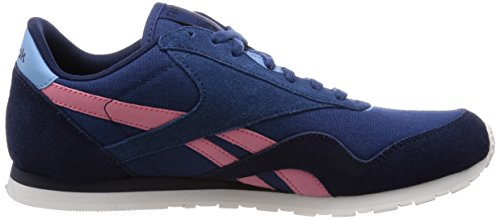 Reebok CL NYLON SLIM COLORS BLK Basket mode femme Bleu