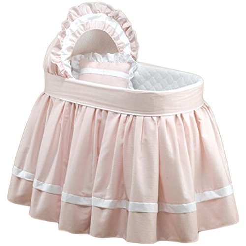 BabyDoll Sweet Petite Liner/Skirt and Hood, Pink, 17'' x 31''