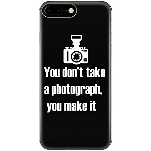 Photographer Photograph - Phone Case Fits iPhone 7 Black