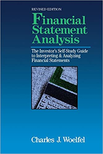 Financial Statement Analysis The InvestorS SelfStudy To