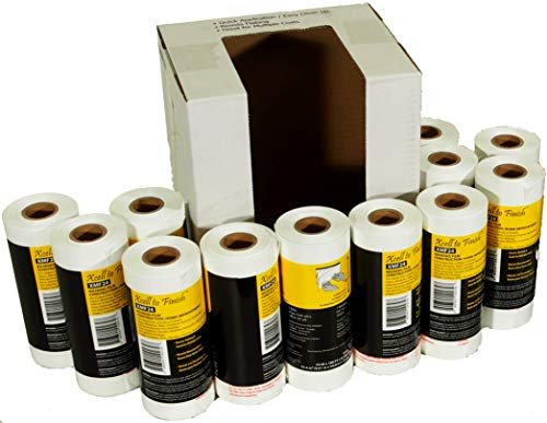 Reli. Pre-Folded Masking Film, 12 Rolls Wholesale Case (90 Foot Length x 24 Inch Width)