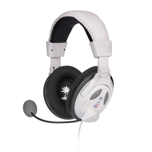 Turtle Beach - Ear Force PX22-  Universal Amplified Gaming Headset - PS3, Xbox 360 - White ()