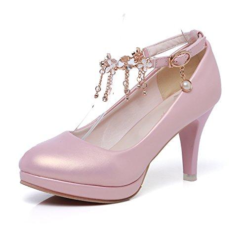 Schuhe Frauen Heels Flachen amp;S LSM MEI Plattform Blockabsatz Mund qS18txng