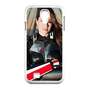 Samsung Galaxy S4 9500 Cell Phone Case White Mass Effect Shepard SUX_126416