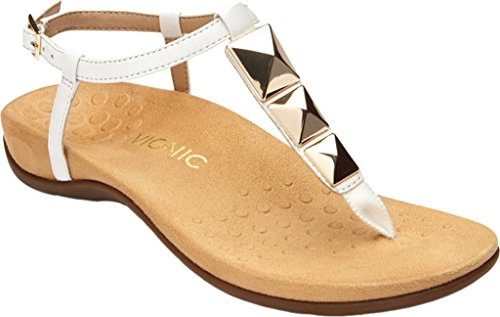 Post Nala Rest Vionic Sandal White Toe q41xtw0