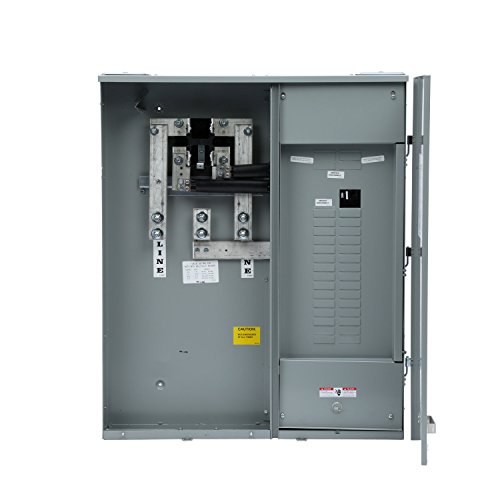 Surface Mount Power Feed - Siemens MC3042B1400SC Meter-Load Center Combination, 30 Space, 42 Circuit, 400-Amp, Surface Mount