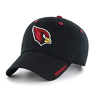 Black NFL Arizona Cardinals Hat Sports Football Baseball Cap Embroidered Team Logo Athletic Games Adjustable Cap/ Hat For Boys Kids Unisex Fan Gift Stylish Easy Strap Closure Quality Cotton Fabric