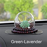 SaveStore Car-Styling Artificial Plants Car Dashboard Decoration Ornament Creative Cute Zeolite Stone Automobile Interior Air Freshener