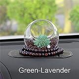 SaveStore Car-Styling Artificial Plants Car Dashboard Decoration Ornament Creative Cute Zeolite Stone Automobile Interior Air Freshener