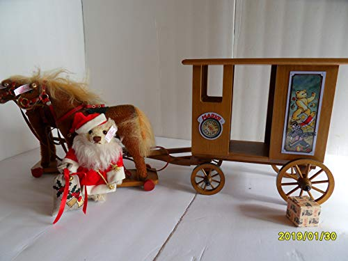 Steiff Santa Christmas Express Limited ed. Made in Germany 2693